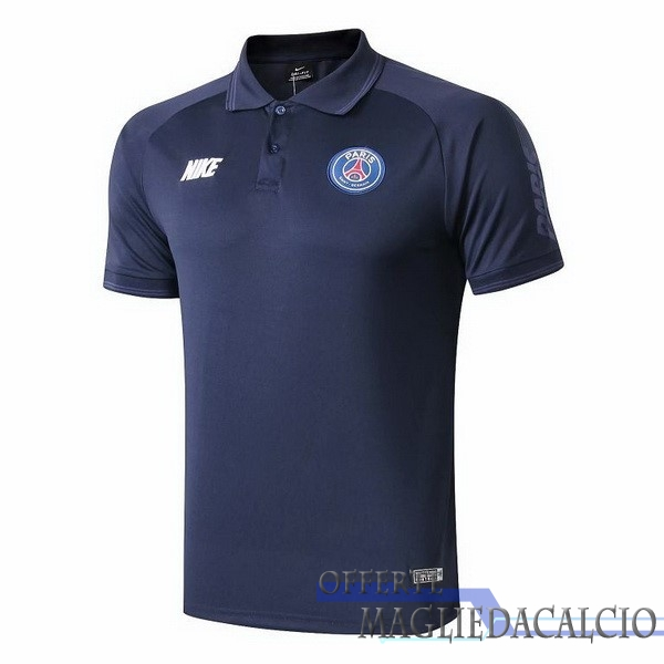 Tute Da Calcio Nike Polo Paris Saint Germain 2019 2020 Blu